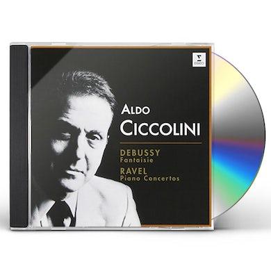 Aldo Ciccolini DEBUSSY. RAVEL: PIANO CONCERTOS CD