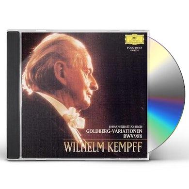 Wilhelm Kempff BACH: GOLDBERG-VARIATIONEN CD