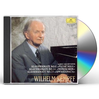 Wilhelm Kempff BEETHOVEN: KLAVIERSONATEN PATHETIQUE MON CD