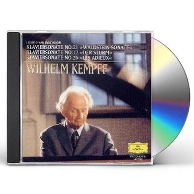 Wilhelm Kempff BEETHOVEN: KLAVIERSONATEN WALDSTEIN CD