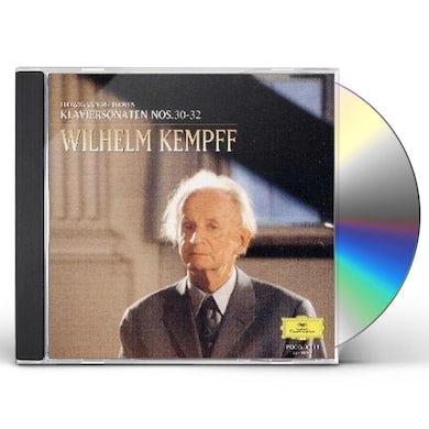 Wilhelm Kempff BEETHOVEN: KLAVIERSONATEN NO30.31.32 CD