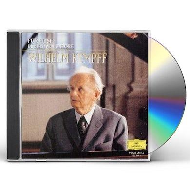 Wilhelm Kempff FUR ELISE / BEETHOVEN ENCORE CD