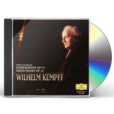 Wilhelm Kempff SCHUMANN: KINDERSZENEN / KREISLERIANA CD