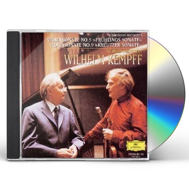Wilhelm Kempff BEETHOVEN: FRUHLINGS-SONATE / KREUTZER SONA CD