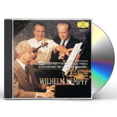 Wilhelm Kempff BEETHOVEN: KLAVIERTORIOS ERZHERZOG-TRIO CD