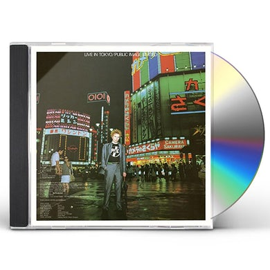 P.I.L. LIVE IN TOKYO CD