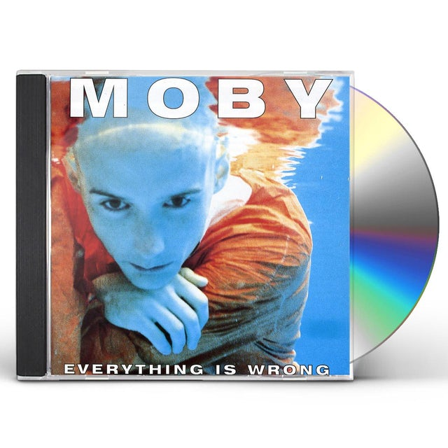 Moby EVERYTHING IS WRONG CD