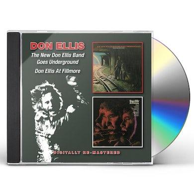 NEW DON ELLIS BAND/GOES UNDERGROUND/DON ELLIS AT F CD