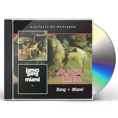 James Gang BANG MIAMI CD
