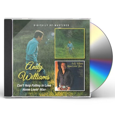 Andy Williams CAN'T HELP FALLING IN LOVE / HOME LOVIN' MAN CD