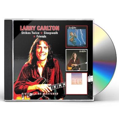 Larry Carlton STRIKES TWICE SLEEPWALK FRIENDS CD