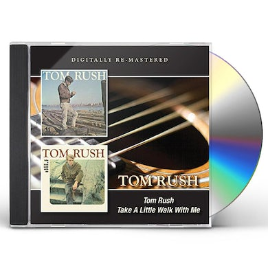 TOM RUSH / TAKE A LITTLE WALK WITH ME CD