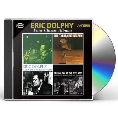 Eric Dolphy OUTWARD BOUND / OUT THERE CD
