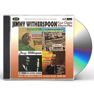 Jimmy Witherspoon GOIN TO KANSAS CITY BLUES CD