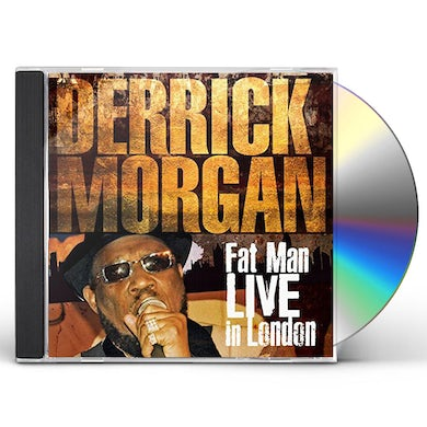 Derrick Morgan FAT MAN LIVE IN LONDON CD