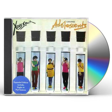 X-Ray Spex GERM FREE ADOLESCENTS CD