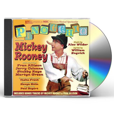 Mickey Rooney PINOCCHIO - TV O.S.T. CD