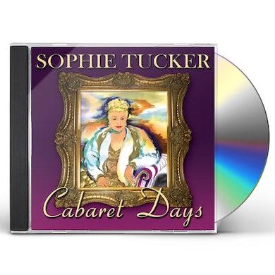 Sophie Tucker CABARET DAYS CD