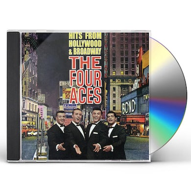Four Aces HITS FROM HOLLYWOOD & BROADWAY CD