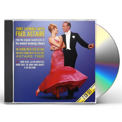 THREE EVENINGS WITH FRED ASTAIRE CD