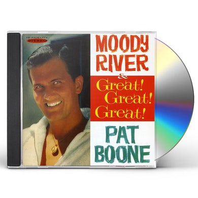 Pat Boone MOODY RIVER & GREAT GREAT GREAT CD