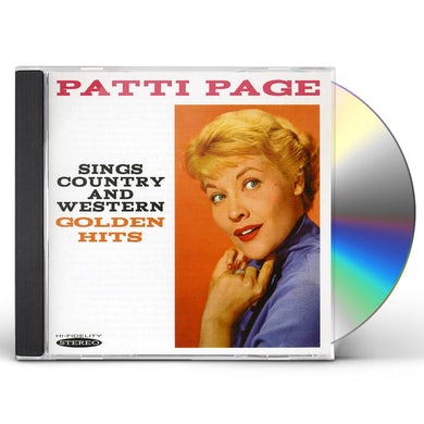 Patti Page SINGS COUNTRY & WESTERN GOLDEN HITS CD