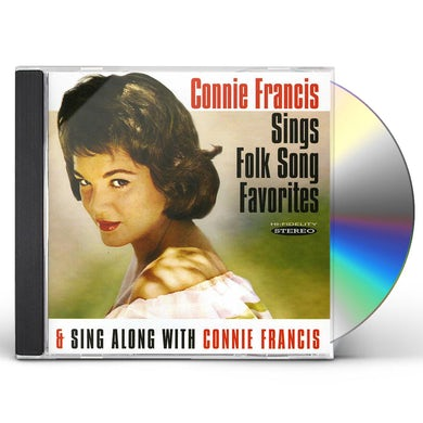 Connie Francis SINGS FOLK SONG FAVORITES / SING ALONG WITH CONNIE CD