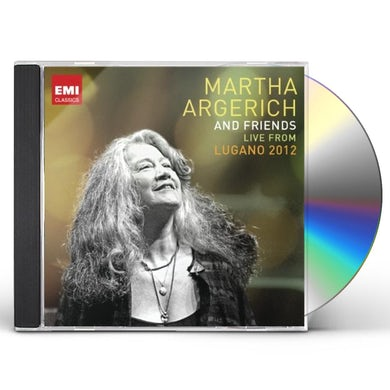 MARTHA ARGERICH & FRIENDS: LIVE FROM LUGANO FESTIV CD