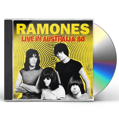 Ramones LIVE IN AUSTRALIA 80 CD