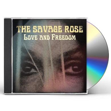 Savage Rose LOVE & FREEDOM CD