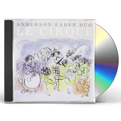 William Anderson LE CIRQUE CD