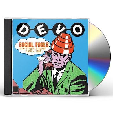 Devo SOCIAL FOOLS: VIRGIN SINGLES COLLECTION CD