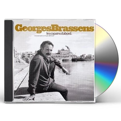 Georges Brassens LES COPAINS D'ABORD CD