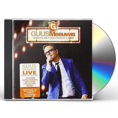 Guus Meeuwis GROOTS MET EEN ZACHTE G 2013/LIVE@PSV STADION 2013 CD