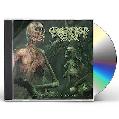 Paganizer LAND OF WEEPING SOULS CD
