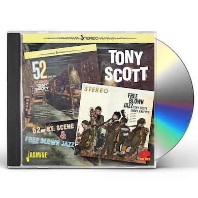 Tony Scott 52ND ST. SCENE & FREE BLOWN JAZZ CD