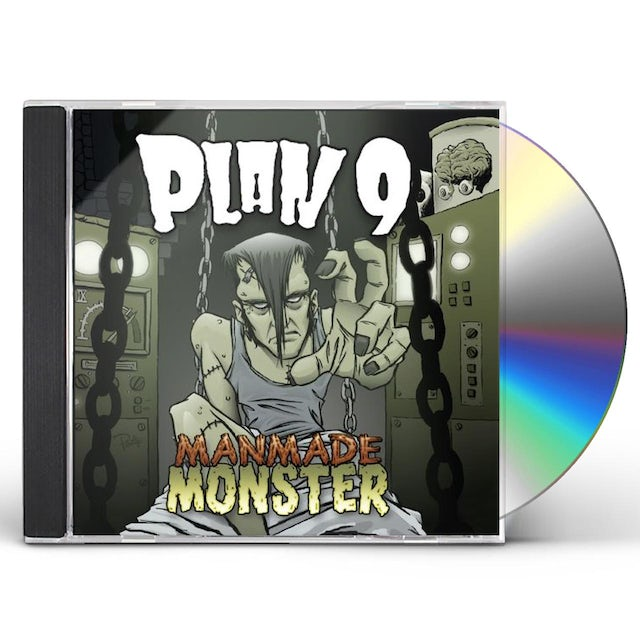 Plan 9 MANDMADE MONSTERS CD
