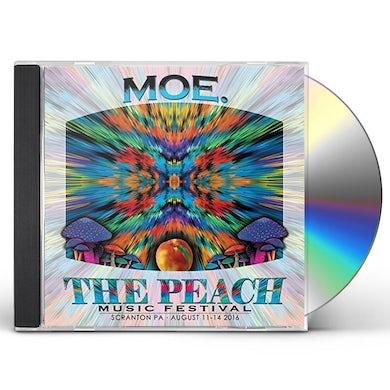 moe. PEACH MUSIC FESTIVAL 2016 CD