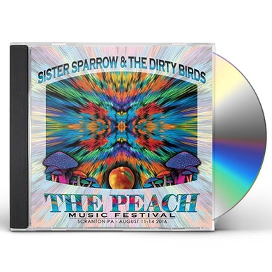 Sister Sparrow and the Dirty Birds PEACH MUSIC FESTIVAL 2016 CD