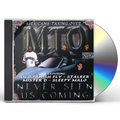 NEVER SEEN US COMING CD