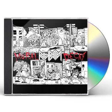Rock Bottom MORAL DECAY CD