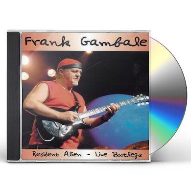 Frank Gambale RESIDENT ALIEN - LIVE BOOTLEGS CD