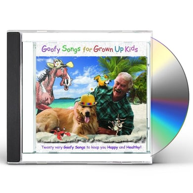 Brent Holmes GOOFY SONGS FOR GROWN UP KIDS CD