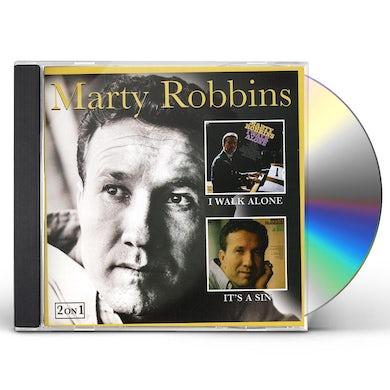 Marty Robbins I WALK ALONE / IT'S A SIN CD