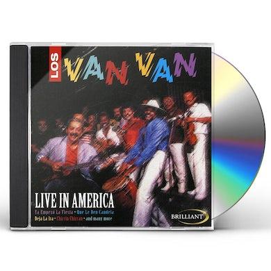 Los Van Van LIVE IN AMERICA CD