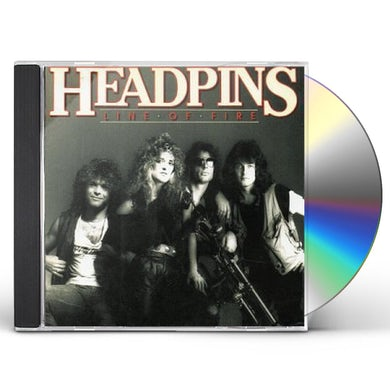 Headpins LINE OF FIRE CD