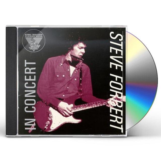 Steve Forbert KING BISCUIT FLOWER HOUR PRESENTS IN CONCERT CD