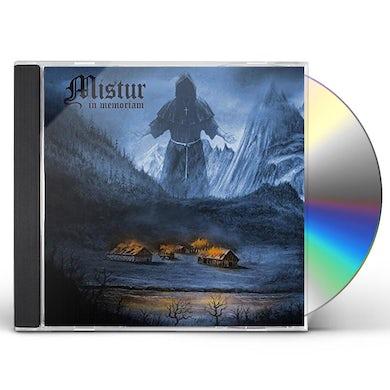 MISTUR IN MEMORIAM CD