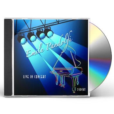Emile Pandolfi LIVE IN CONCERT CD
