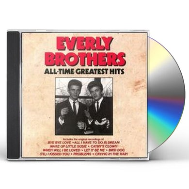 The Everly Brothers ALL TIME GREATEST HITS CD